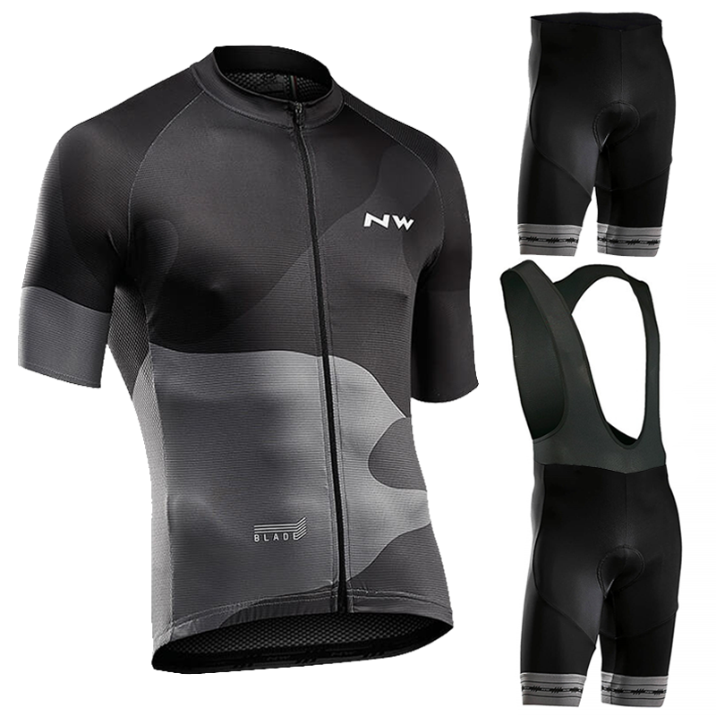 <font><b>Northwave</b></font> Summer Cycling Jersey Set Breathable <font><b>Nw</b></font> 2020 Bicycle Cycling Clothing Mountain Bike Wear Clothes Maillot Ropa Ciclismo image