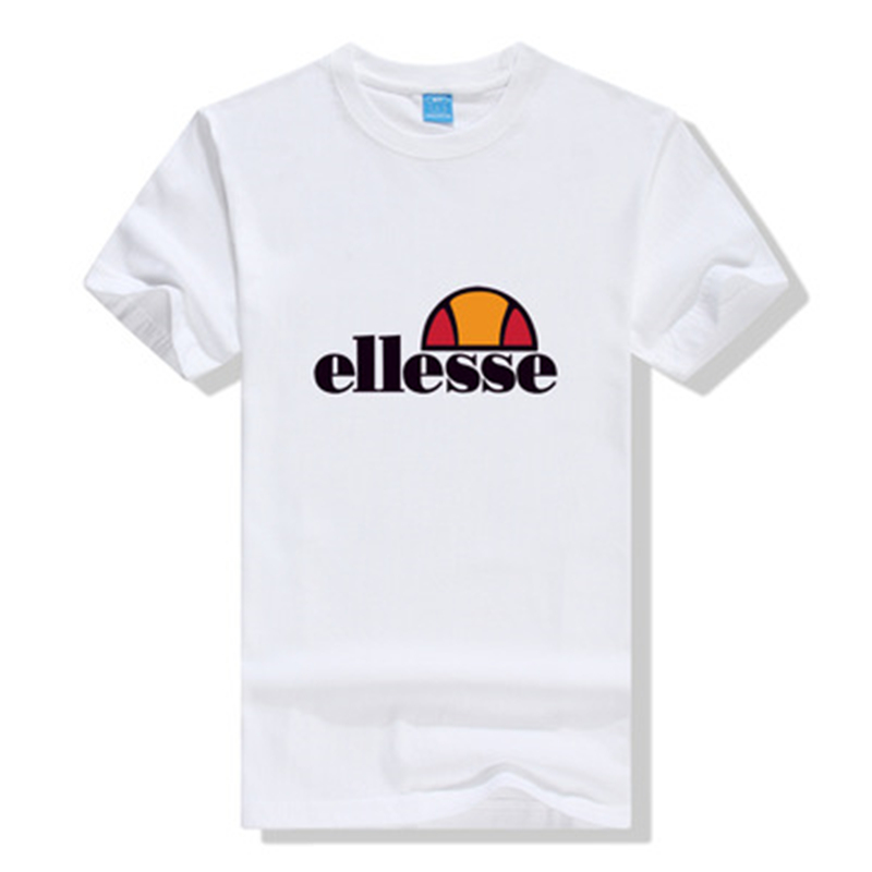 Ellesses T Shirt Men Plus Size Tshirt Off White Ellesse Man Tee Shirt Homme Summer Casual Tshirts Brand Men's Sports Clothing