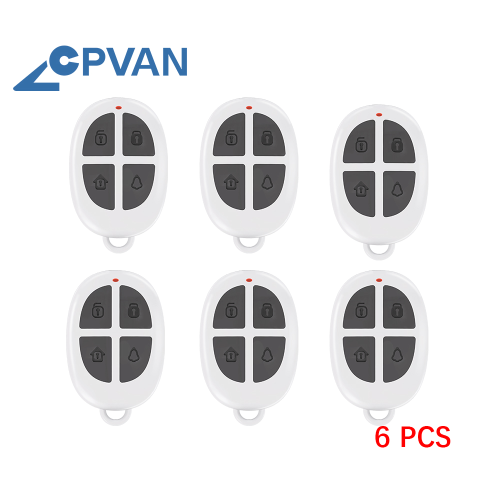 CPVAN Motion Sensor Alarm Remote Control for CP2 Wireless Infrared Home Security System PIR Motion Detector Not Include Sensor