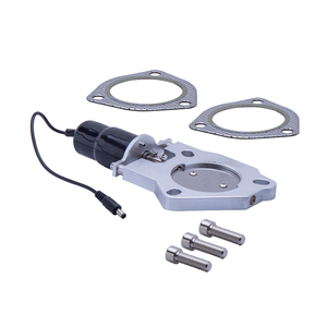 """Image 1 - Free shipping 2.5"""" or 3"""" SS304 Electric Exhaust Catback cut out CutOut Kit Remote Control Car Muffler Accessory Parts"""