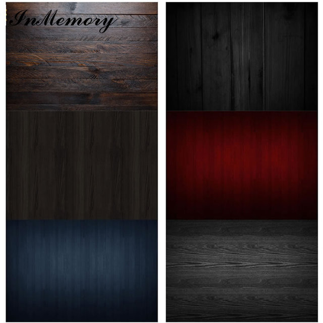 InMemory 60x40cm Wood Board Texture Wooden Floor Plank Backdrop Vinyl Food Photography Background For Photo Studio Photophone