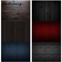 InMemory 60x40cm planche de bois Texture plancher en bois planche toile de fond vinyle alimentaire photographie fond pour Photo Studio Photophone