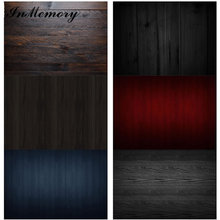 Inmemory 60 × 40センチメートル木板テクスチャ木製床厚板背景ビニール食品写真撮影の背景写真スタジオphotophone