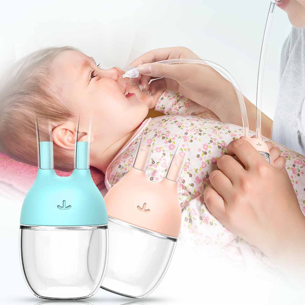 Baby Nasal Suction Aspirator Nose Cleaner Sucker Suction Tool Protection Baby Mouth Suction Aspirator Type Health Care Dropship