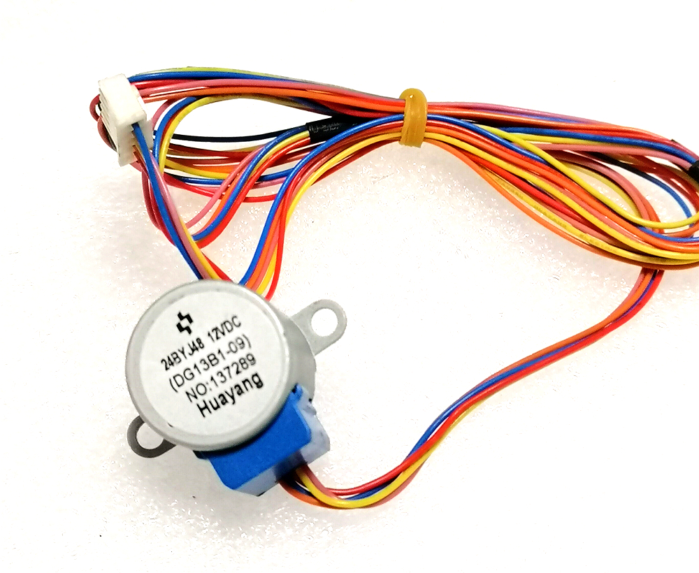 <font><b>24BYJ48</b></font> <font><b>12V</b></font> DC TCL Air conditioning hang up Synchronous Step swing flap 100CM wire image
