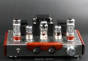 Image 1 - Himing ライバル RH34W EL34 チューブアンプ hifi エクスキ木材バージョンシングルエンド統合手作り足場アンプ