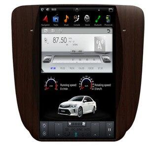 12,1 ''вертикальный Тесла стиль Android 9,1 автомобильный DVD плеер GPS навигация для GMC Yukon 2007-2012 IPS автомультимедиа Радио стерео
