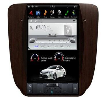 Android 9 Tesla style Car GPS Navigation For GMC Yukon 2007-2011/Wooden headunit multimedia radio tape recorder IPS no DVD auto