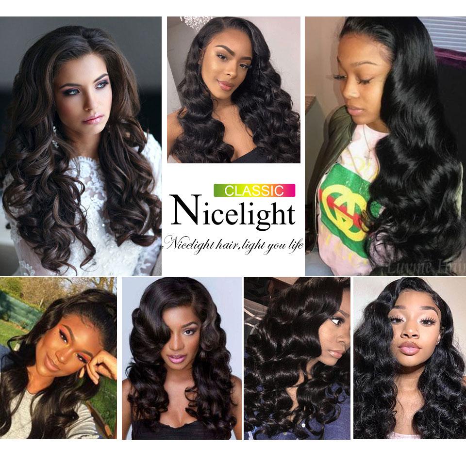 Image 5 - Peruvian Loose Wave Black Bundles Human Hair Weave Nicelight 1 Bundle Hair Weave Single Bundles 1/3/4 Bundle Deals Hair Vendors-in Hair Weaves from Hair Extensions & Wigs