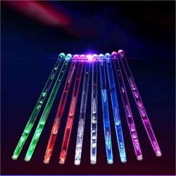 BATESMUSIC Macromolecular compound Bright Thigh Led Light Drumsticks Percussion Instrument Luminous Accessories for Drum