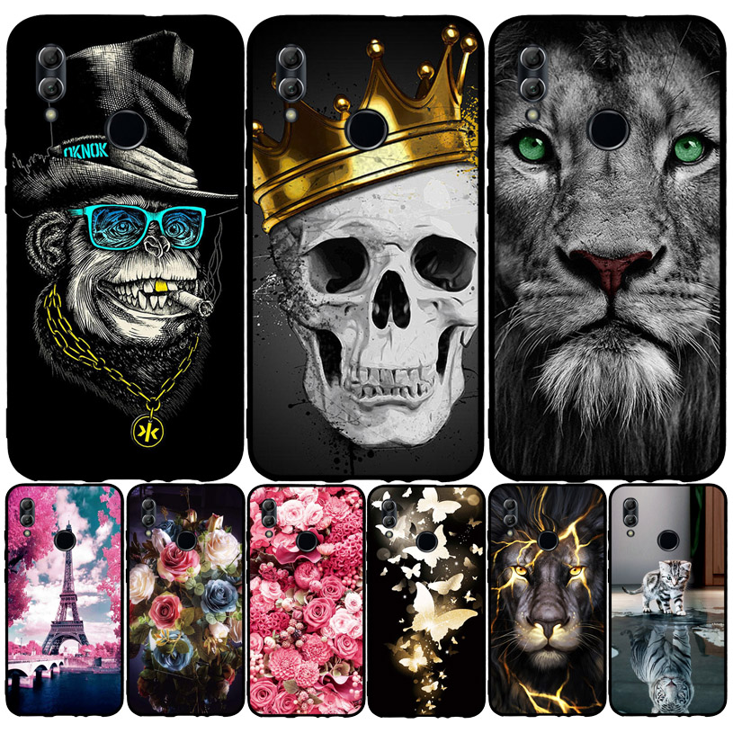 For Huawei Honor 10 Lite Case Cover Soft Silicone Thin TPU Back Cover For Fundas Huawei P Smart 2019 POT-LX3 POT-LX1 Phone Case