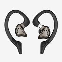 Auricolari Bluetooth TWS 5.0 cuffie impermeabili con riduzione del rumore CVC auricolari sportivi Stereo cuffie Bluetooth Wireless con doppio microfono