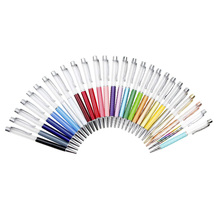 27 PACK Colorful Empty Tube Floating DIY Pens Ballpoint Pens