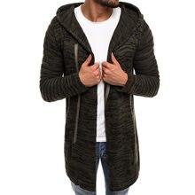 Outono/inverno novo hoodie masculino moda rasgado diagonal pull-on casaco de lã com capuz harajuku masculino com capuz