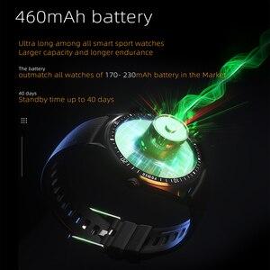 Image 5 - 2020 K33 Intelligente Della Vigilanza degli uomini di 1.28 Schermo di Tocco Pieno 460mAh Lungo Standby 8 Modalità Sport Heart Rate Monitor smartwatch Per Andriod IOS
