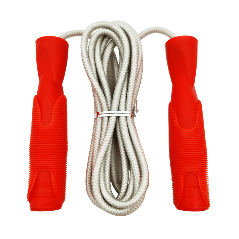 Liang Jian Manufacturers Direct Selling Sports Cotton Binder Jump Rope PVC Soft Case Plastic Handle Fitness Gift Adult With Lany
