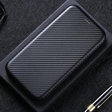 For OnePlus Case Nord N100 N10 Carbon Fiber Flip Leather Case For Oneplus 9 8T 8 7T 7 6 5T Pro Card Holder Walle Magnetic Cover