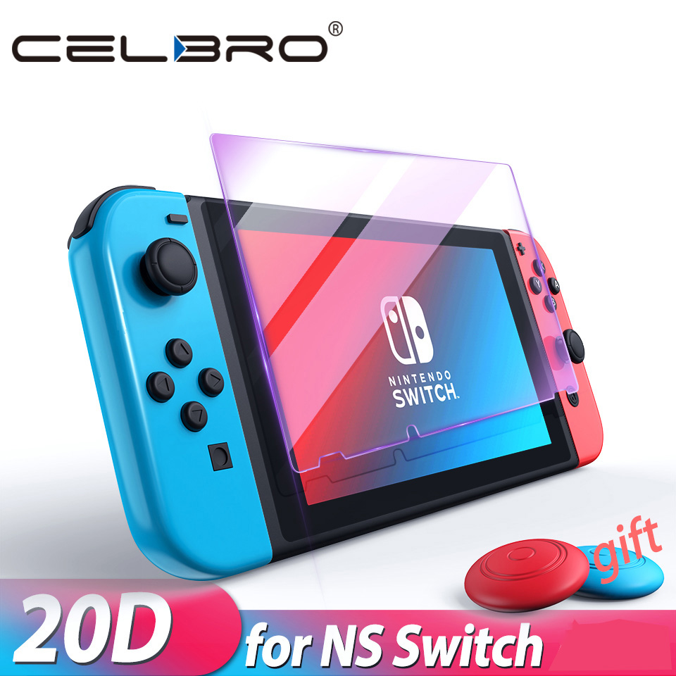 Protective Glass for Nintend Switch Tempered Glass Screen Protector for Nintendos Switch NS Glass Accessories Screen Protection(China)