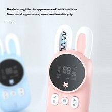 Mini Toys Lanyard Interphone Transceiver Walkie-Talkie Uhf-Radio Birthday-Gift Handheld