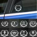 2 шт. отличное 3D металлическая наклейка на автомобиль эмблемы чехол для Audi A1 A2 A3 A4 A5 A6 A7 A8 C5 C6 Q2 Q3 Q5 Q7 R8 S3 S5 S6