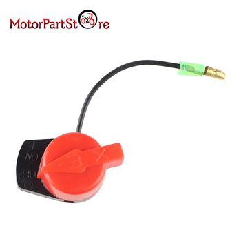 ON Off Engine Stop Kill Switch Control for Honda GX110 GX120 GX160 GX200 GX240 GX270 GX340 GX390 36100-ZF6-P81 36100-ZF6-P82 image