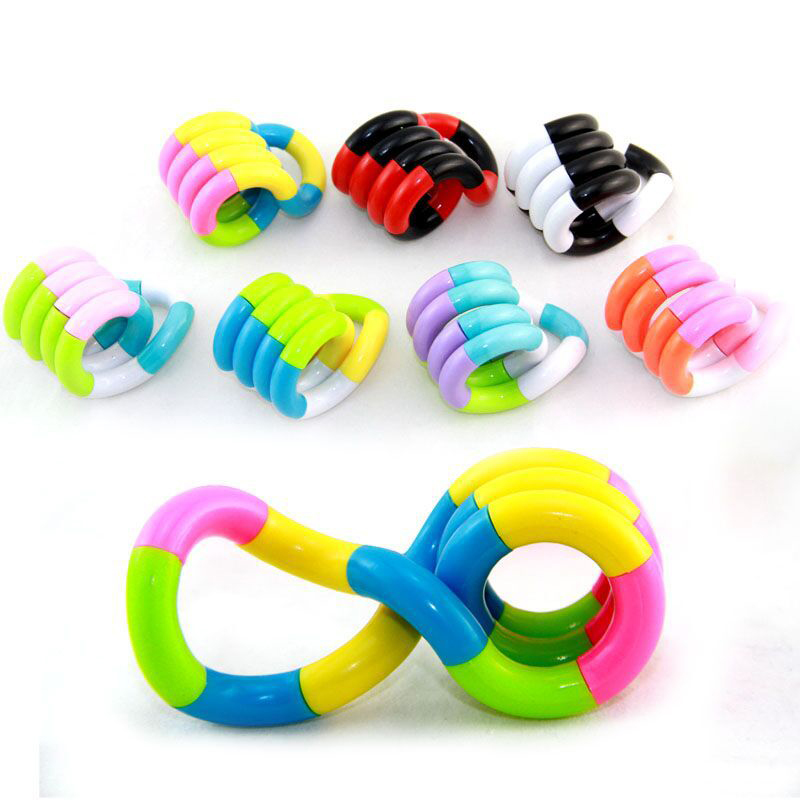 Toy Decompression-Toy Autism Perfect-Stress New Fidget Gift Colorful Adult Child Twist