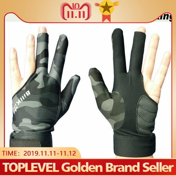 2019 High Quality Billiard Gloves Camouflage Billiard Professional Gloves Pool Glove Billiard Accessories