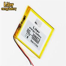 3 satır 306573 3.7V 1500mAh lityum polimer LiPo hücreler için güç PAD GPS video oyun e kitap Tablet PC güç bankası
