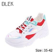 Корейские кроссовки; Обувь для женщин; Сезон весна осень 2020
