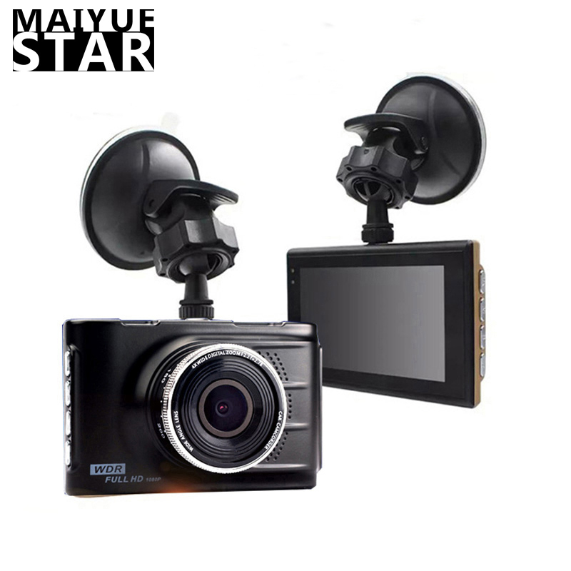 Car DVR Camera Video-Recorder Rearview-Mirror Dual-Lens Night-Vision 1080P Full-Hd Mai