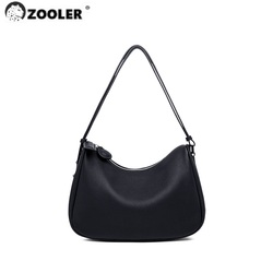 Limited ! only few ! ZOOLER Exclusively Genuine Leather Women's Shoulder Bags Soft Handbag Ladies Bag Button Fashion Red#sc591