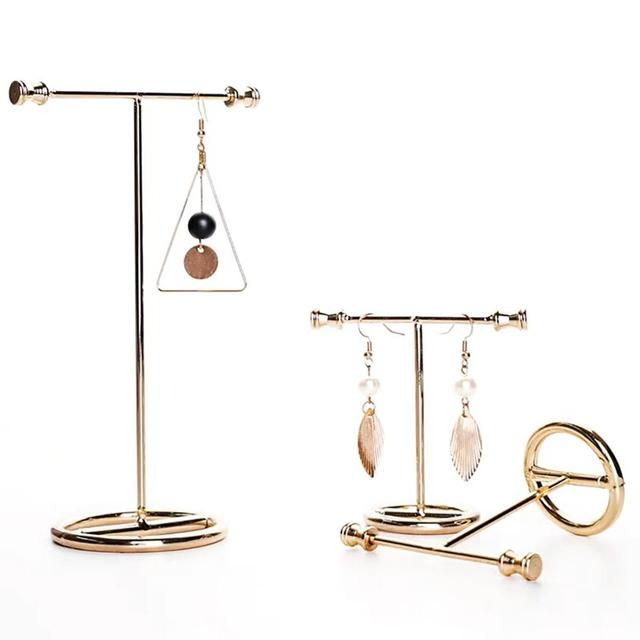 Classic Gold Earring Stand