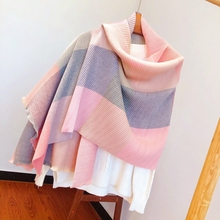 Woman winter scarf wool blended material soft warm high-grade scarf