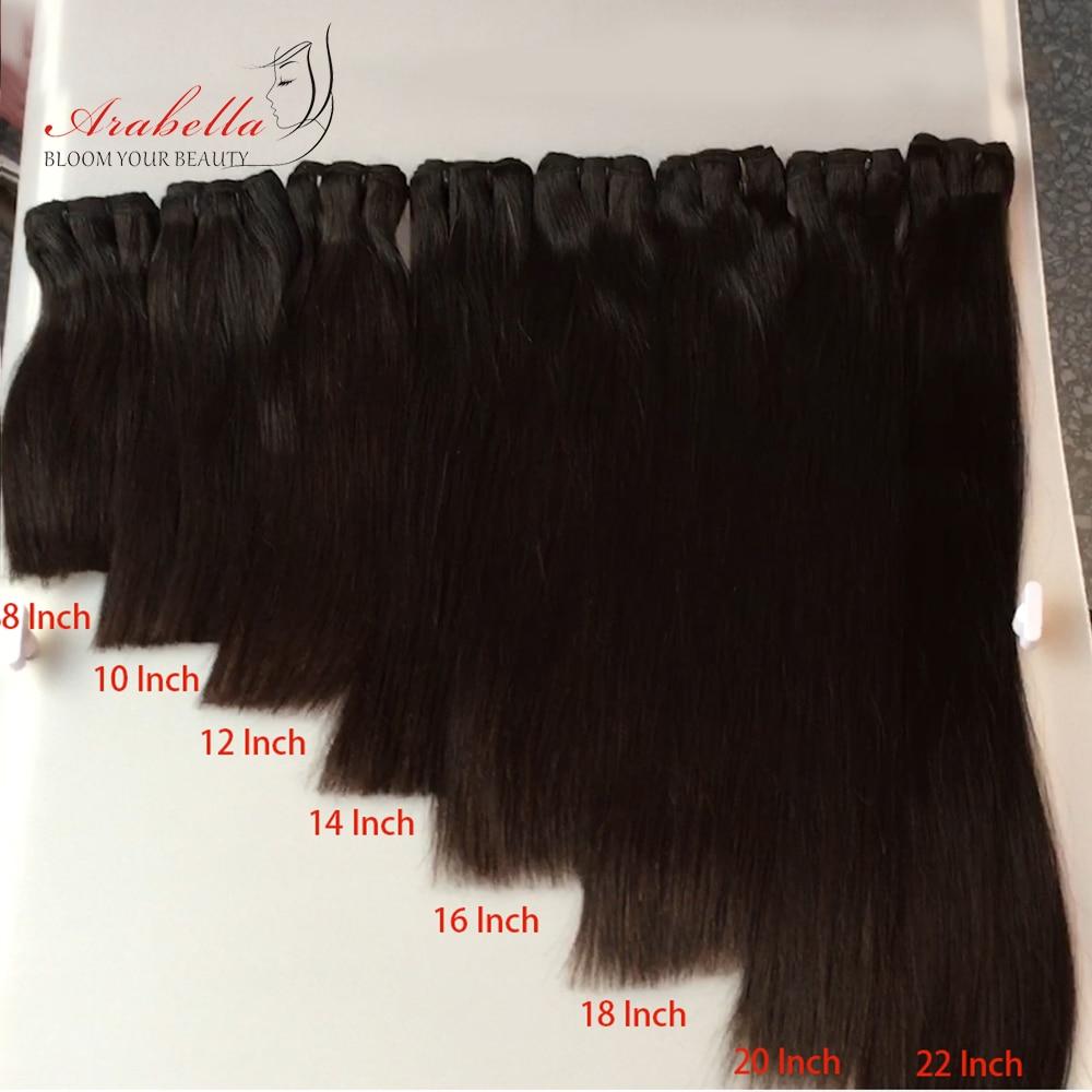 Super Double Drawn 10 Bundles Virgin Hair  Arabella Straight Hair For Top Customer 100%  Bundles 1