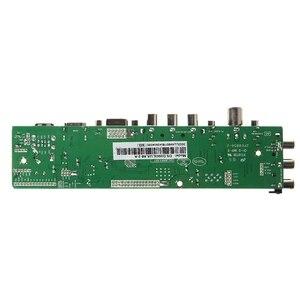 Image 3 - V56 V59 لوحة تحكم شاملة في التلفزيون الإل سي دي لوحة للقيادة DVB T2 التلفزيون مجلس 7 مفتاح التبديل IR 1 مصباح العاكس LVDS كابل عدة 3663 بالجملة دروبشيبينغ