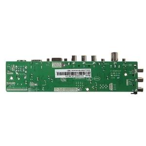 Image 3 - V56 V59 Universal LCD Driver Board DVB T2 TV Board+7 Key Switch+IR+1 Lamp Inverter+LVDS Cable Kit 3663Wholesale dropshipping