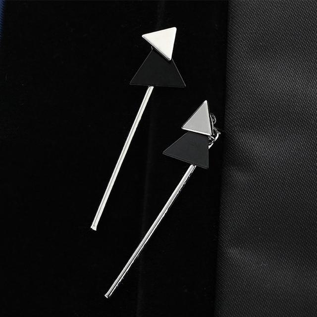 CARTER LISA Simple Fashion Small Triangle Silver Bar Drop Earings For Women Girl Fashion Jewelry Party.jpg 640x640 - CARTER LISA Simple Fashion Small Triangle Silver Bar Drop Earings For Women Girl Fashion Jewelry Party Christmas Gifts Brincos