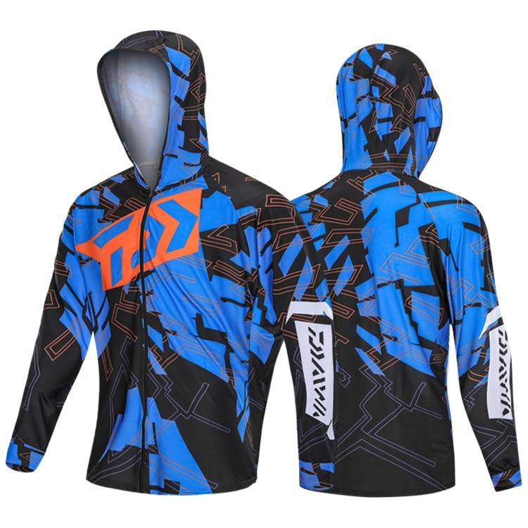 DAIWA Fishing Clothing Quick-Drying Coat Men UV Protection Waterproof Outdoor Fishing Shirt For Hiking Cycling Fishing Clothes