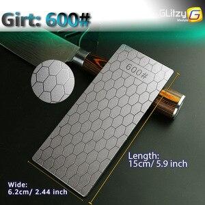 Image 3 - Diamond Knife Sharpening Stone 400# 1000# 600# Knife Sharpener Ultra thin Honeycomb Surface Whetstone Grindstone Cutter Tool Set