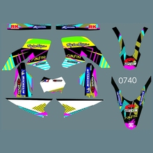 Full Graphics Decals Stickers Custom Number Name Glossy Stickers Kits for YAMAHA WR250R 2008 2009 2010 2011 2012 2013 2014 2015 husqvarna te450 te510 tc450 tc510 2008 2010 year 3m graphics background decals stickers kits dirt bike motorcycle