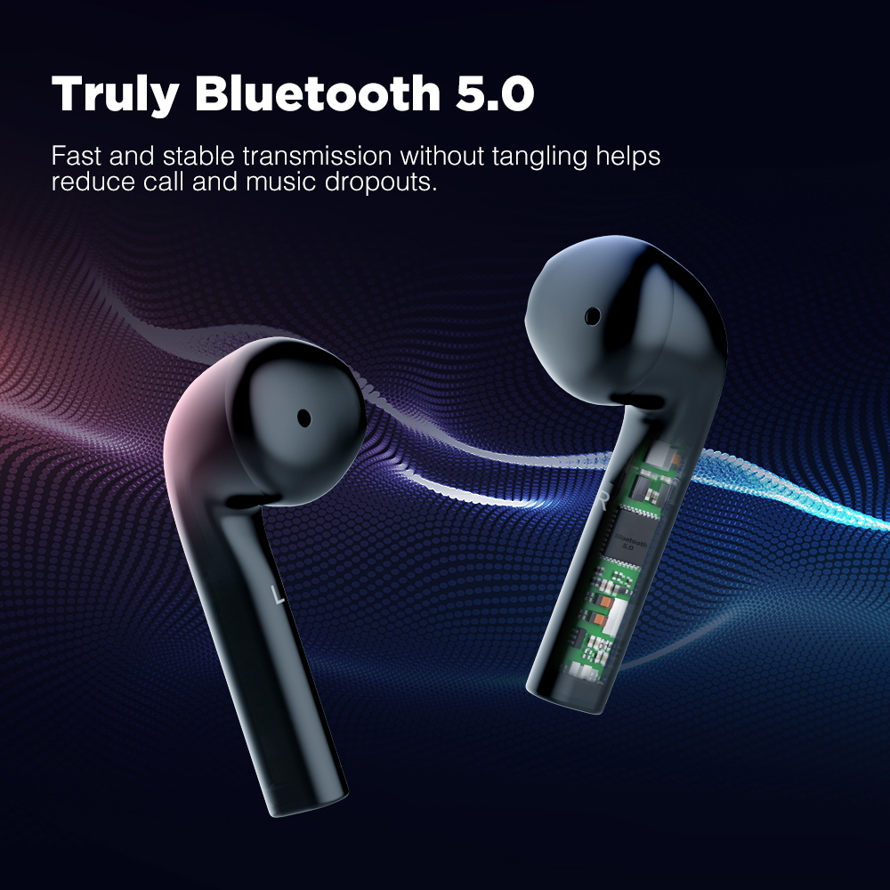 Image 2 - Cowin KY07 TWS True Wireless Earphones With Bluetooth 5.0 Sports  Waterproof Earphones 3D Stereo Earbuds Auto Pairing HeadsetBluetooth  Earphones