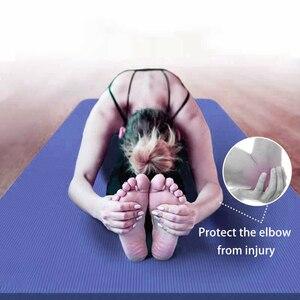 Image 5 - 183*61*1.5cm מחצלות יוגה עם גוף קו עבה חמה יוגה פילאטיס התעמלות מחצלות כרית איזון כושר מתקפל החלקה מחצלת תרגיל