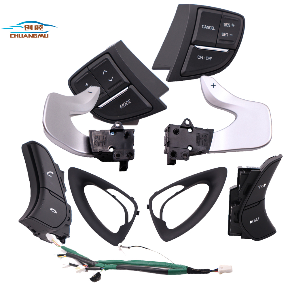 for HYUNDAI Sonata YF multi function steering wheel button switch cruise control Steering Wheels & Horns     - title=