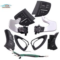 for HYUNDAI Sonata YF multi function steering wheel button switch cruise control w Kierownice i klaksony od Samochody i motocykle na