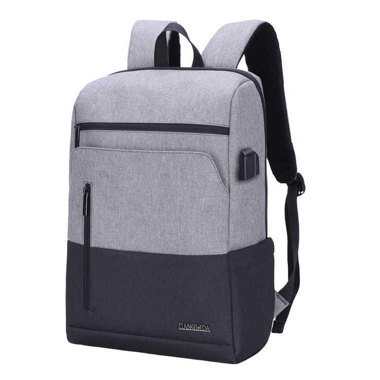 Wenyujh 2019 novo portátil usb mochila saco de escola anti roubo dos homens mochila viagem daypacks lazer masculino mochila