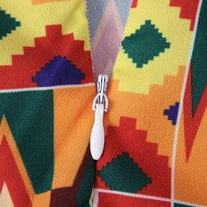 Африканская Дашики для маленьких девочек; платье принцессы с короткими рукавами и принтом; одежда; зимнее платье для девочек; костюм; vestido menina