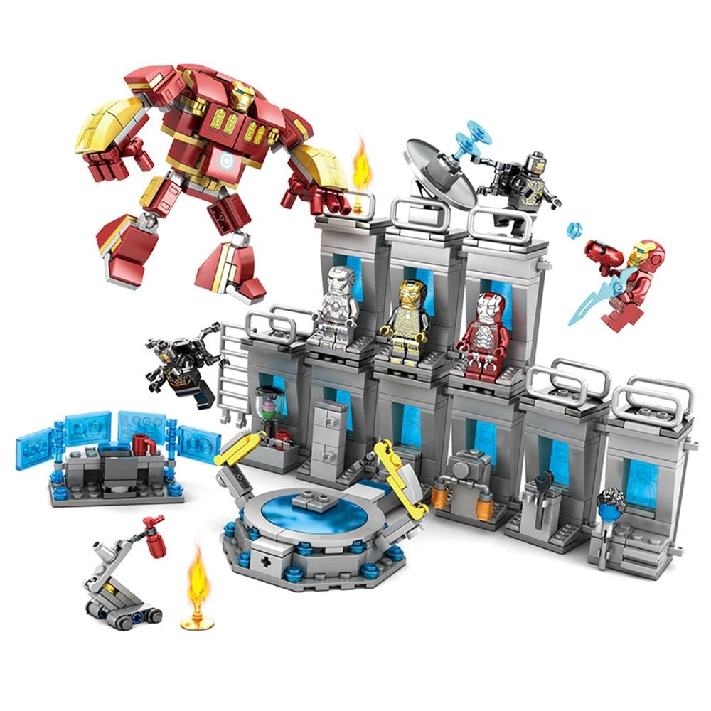 2019 Marvel Avengers Endgame Iron Man Base Set Compatible Building Blocks Bricks
