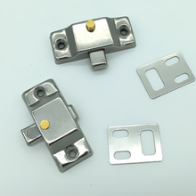 Hot selling 1 pcs Stainless steel aluminum alloy door latch Sliding bolts Mounted window with screws