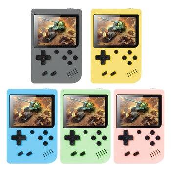 800 в 1 Ретро портативная мини портативная игровая консоль 3,0 дюймов цветной экран Ретро Россия квадратные игровые консоли