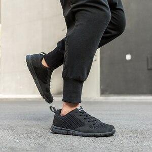 Image 3 - NIDENGBAO zapatos informales de malla para hombre, calzado liviano para caminar, talla grande 47 48 49 50